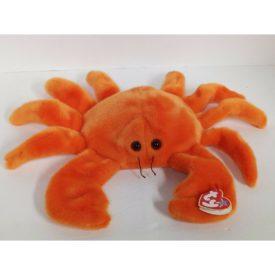 Ty Beanie Buddy - DIGGER The Orange Crab Plush