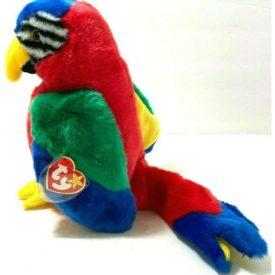 Ty Beanie Buddy - JABBER The Parrot Plush