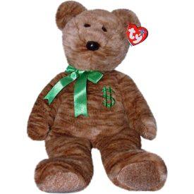 Ty Beanie Buddy - BILLIONAIRE the Bear Plush