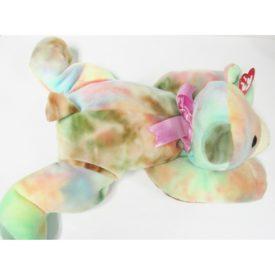Ty Pillow Pal - SHERBET the Tie-dyed Bear Plush