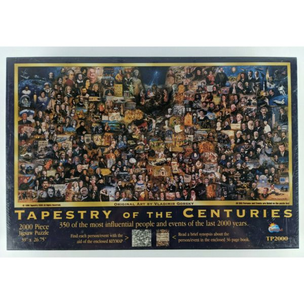 Tapestry of The Centuries by Vladimir Gorsky  2000 Piece Puzzle