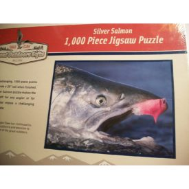 Silver Salmon 1,000 Piece Jigsaw Puzzle