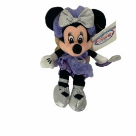 Disney Store Bean Bag Plush Toy - SUGAR PLUM MINNIE Mouse