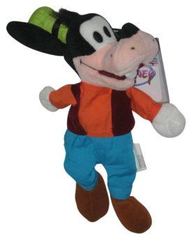Disney Store Mini Bag Plush Toy - GOOFY