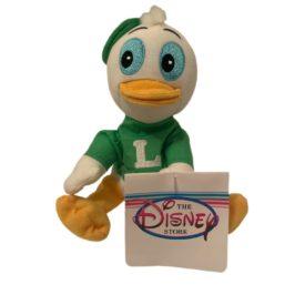 Disney Store Mini Bean Bag Plush Toy - LOUIE (Donald Duck Mischievous Nephew)