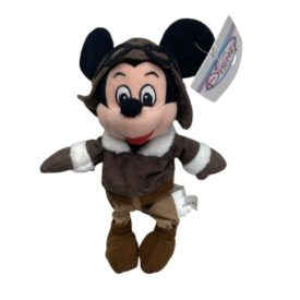 Disney Store Mini Bean Bag Plush Toy - PILOT MICKEY Mouse