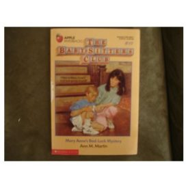Mary Annes Bad-Luck Mystery (Baby-Sitters Club) (Paperback)