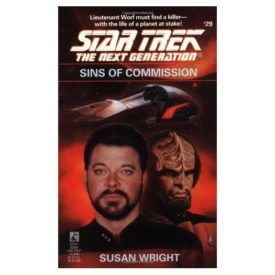 Sins of Commission (Star Trek The Next Generation, No 29) (Paperback)