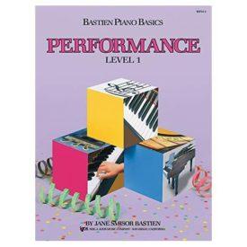 WP211 - Bastien Piano Basics - Performance Level 1 (Paperback)