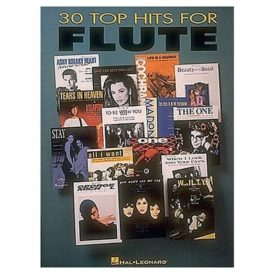 30 Top Hits - Flute (Paperback)
