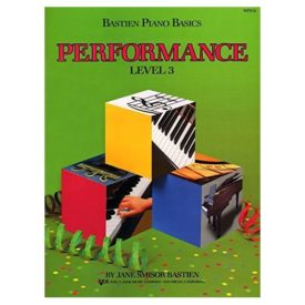 WP213 - Bastien Piano Basics - Performance Level 3 (Paperback)