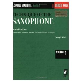 Technique of the Saxophone: Scale Studies (Paperback)