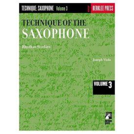 Technique of the Saxophone - Volume 3: Rhythm Studies (Paperback)