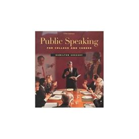 Public Speaking for College and Career (Paperback)