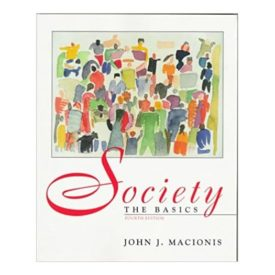 Society: The Basics  (Paperback)