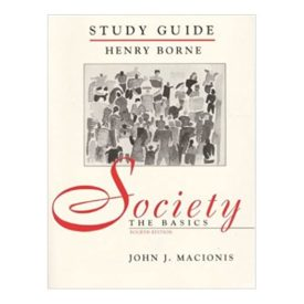 Society: The Basicss : Study Guide  (Paperback)
