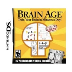 Brain Age: Train Your Brain in Minutes a Day! - Nintendo DS (Video Game)