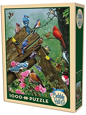 Cobble Hill 1000 Piece Puzzle - Birds of The Forest