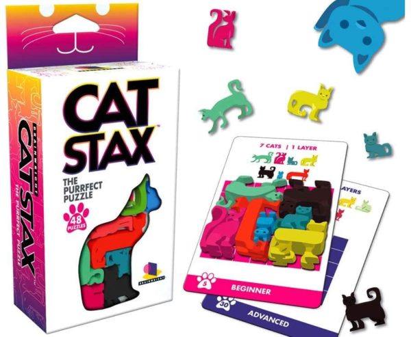 Brainwright Cat STAX, The Purrfect Puzzle