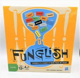 Hasbro Gaming Funglish Game: Express It & Guess It With Piles Of Tiles