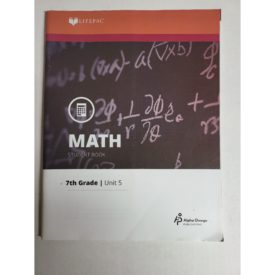 Math 705 Ratios and Proportions (Lifepac Science Grade 7-Math) (Paperback)