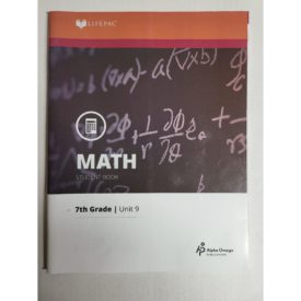 Math 709 Measurement and Area (Lifepac Science Grade 7-Math) (Paperback)