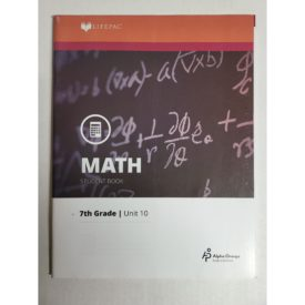Math 710 Surface Area and Volume (Lifepac Science Grade 7-Math) (Paperback)