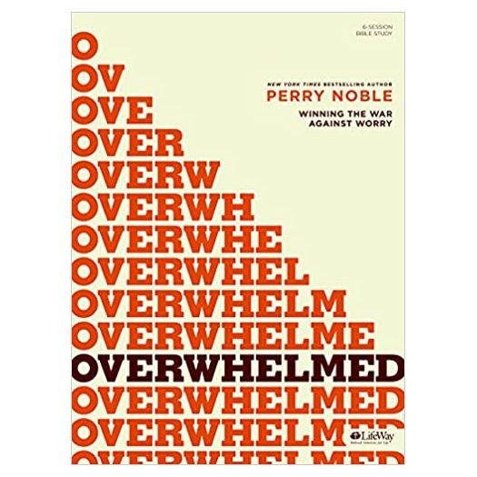 Overwhelmed - Bible Study Book (Paperback)