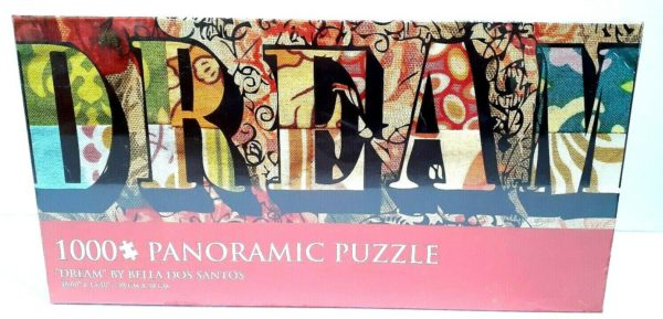 Dream by Bella Dos Santos 1000 Piece Panoramic Jigsaw Puzzle